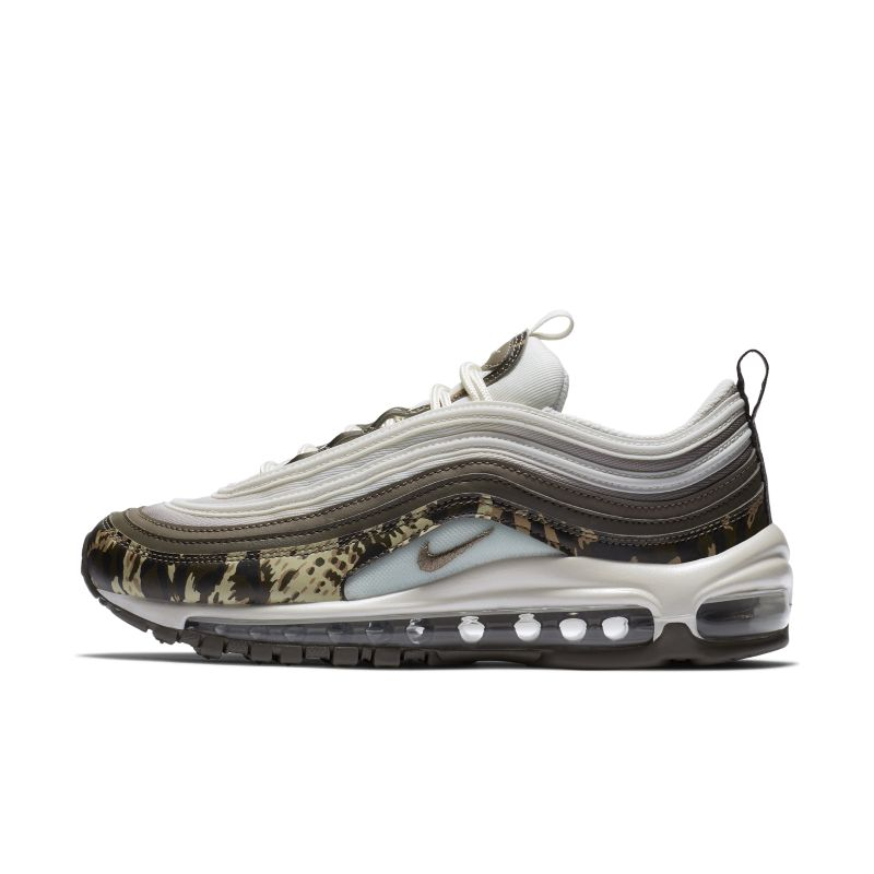 Nike Air Max 97 Gs Running Shoes White Black Persian Violet