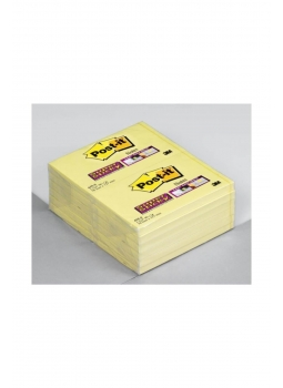 Post - İt Super Sticky Not, Sarı, 90 Yaprak, 51x76mm-12li Ürün Resmi
