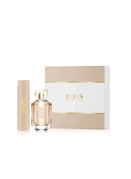 Hugo Boss The Scent For Her Edp 100 Ml + Vucüt Losyonu 200 Kadın Parfüm Seti Ürün Resmi